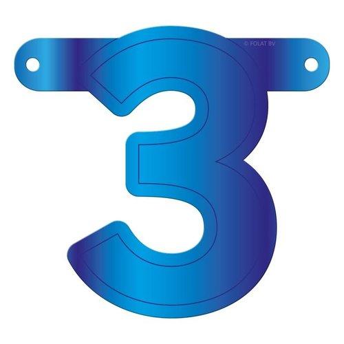 Letterslinger getal 3