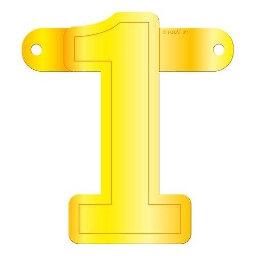 Letterslinger getal 1