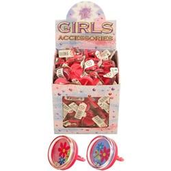 Roze ring met spelletje, uitdeelcadeautje