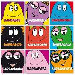 Barbapapa uitdeelboekje per setje 9 boekjes