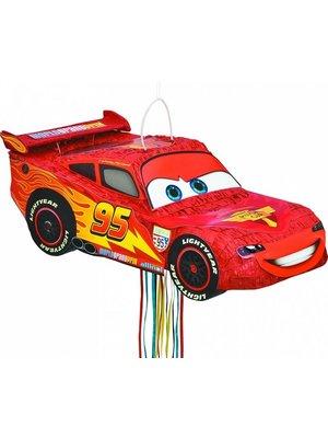 Pinata Cars Bliksem McQueen met pullstrings
