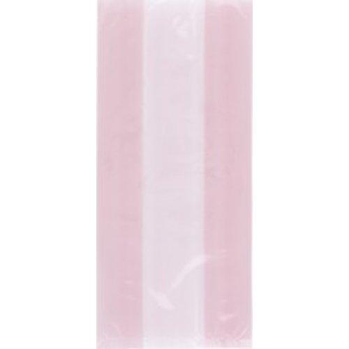 Cello bag, licht roze (feestzakjes / inpakzakjes 30 stuks)