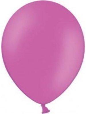 Ballonnen, 10 stuks, knal roze, zonder afbeelding