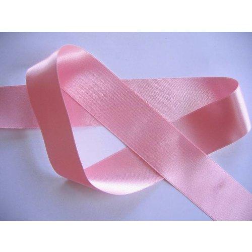 Satijn lint 6 mm (roze)