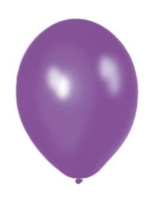 Ballonnen paars, 10 stuks