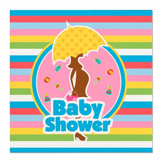 Baby Shower versiering