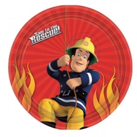 Brandweerman Sam versiering