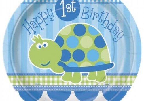 Hoera 1 jaar schildpad