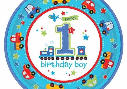 Brandweer / fun at one boy, eerste verjaardag