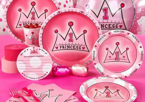 Eerst verjaardag princess
