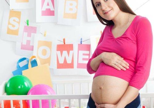 Babyshower versiering neutraal