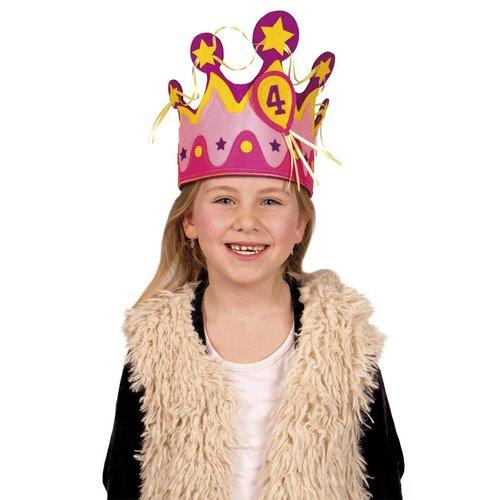 Verjaardagskroon meisje 1-5 jaar