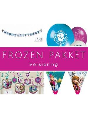 Verjaardag feestpakket Frozen decoratie