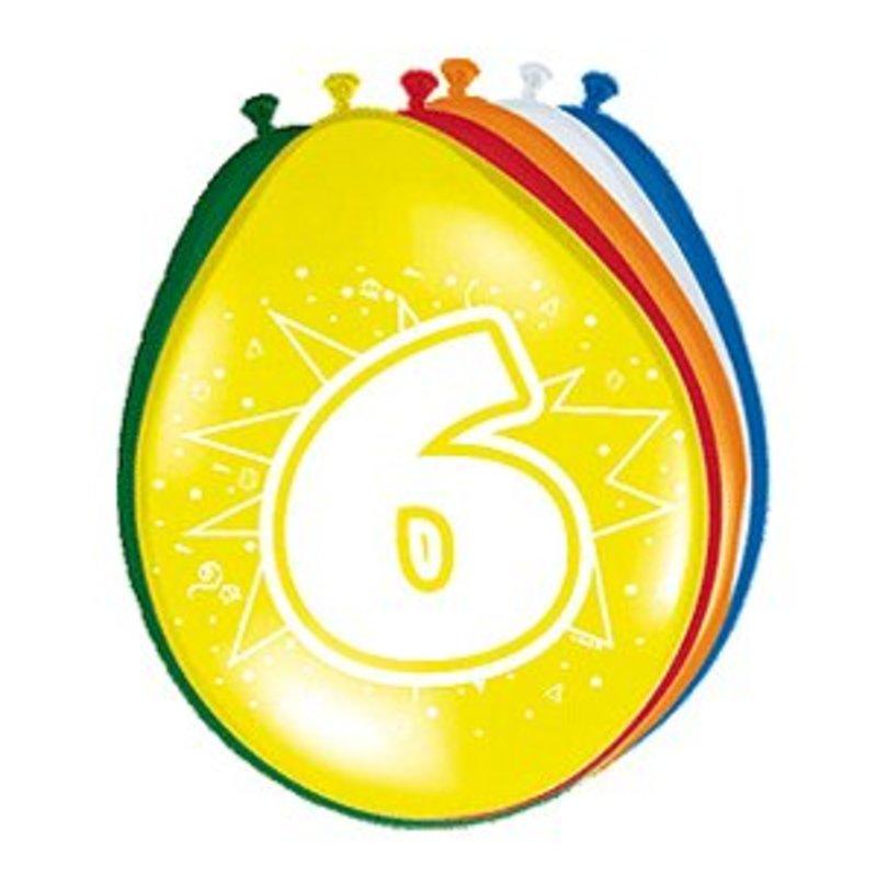 Ballonnen gekleurd afbeelding 6