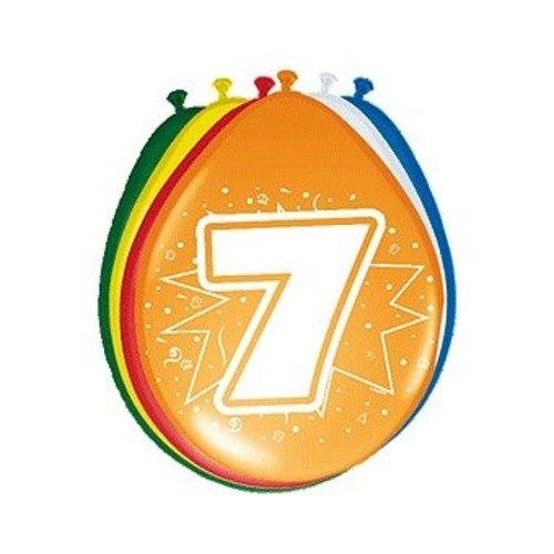 ballonnen gekleurd afbeelding 7 gekleurd