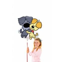 Woezel en Pip ballon in vorm (groot)