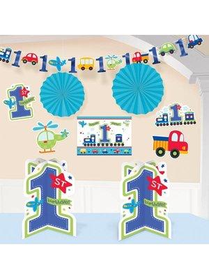 Kamer decoratie set eerste verjaardag transport