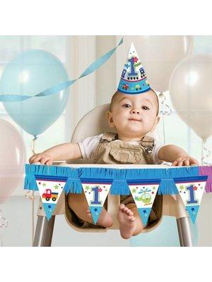 Kinderstoel versiering, eerste verjaardag transport