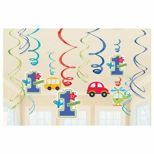 hangdecoratie eerste verjaardag transport