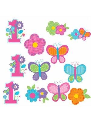 12 Kleine posters voor de 1ste verjaardag
