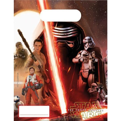 Star Wars: The Force Awakens, feestzakjes