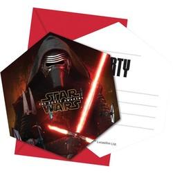 Star Wars: The Force Awakens, uitnodigingen