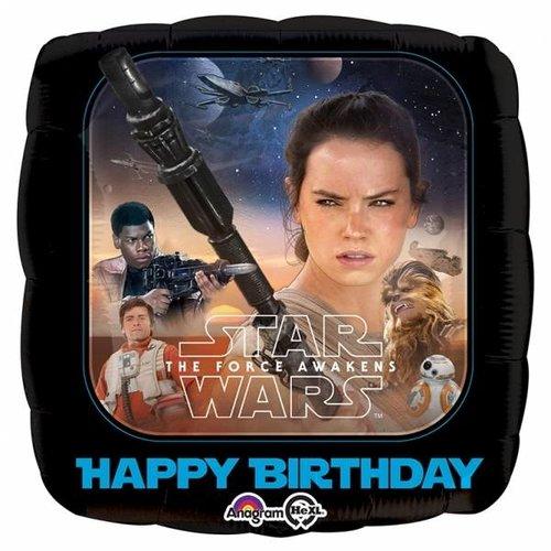 Star Wars: The Force Awakens, dubbelzijdige folie ballon