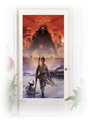 Star Wars: The Force Awakens, deur poster