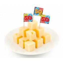 Cocktail prikkers blocks (50 jaar)