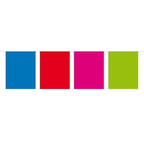 rechthoekige vlaggenlijn gekleurd
