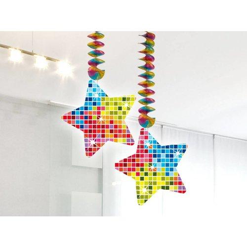 Hangdecoratie effen (serie blocks)
