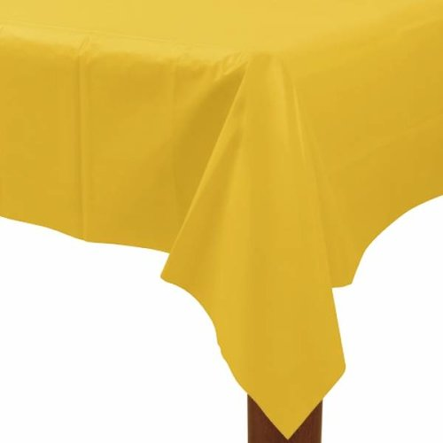 geel tafelkleed