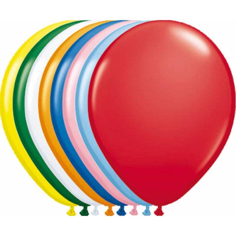 10 gekleurde ballonnen