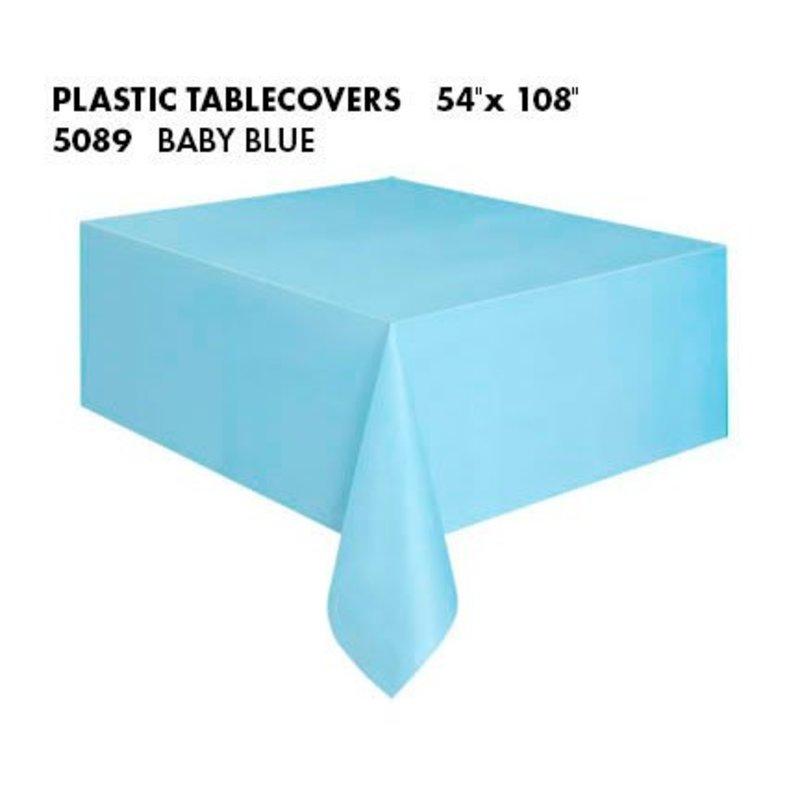 baby blauw tafelkleed