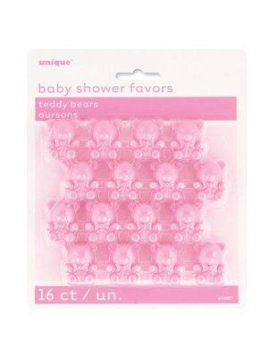 babyshower roze beertjes