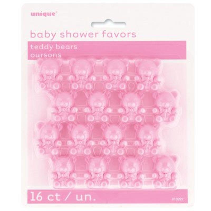 baby shower roze beertjes