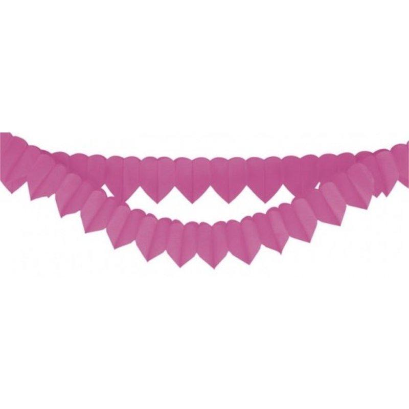 2x hartjes slinger roze