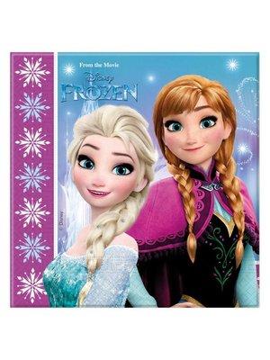 Frozen Disney servetten elsa en anna noorderlicht