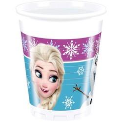 Frozen Disney bekers 8 stuks ( frozen lights)