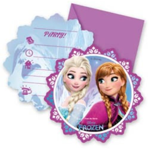 Frozen Uitnodigingen Noorderlicht