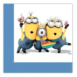 Minions / despicable Me servetten feest