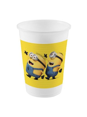 Minions / despicable Me plastic bekers