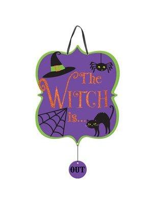 Heksen kinderfeestje feestartikelen deurbord
