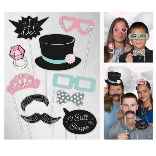 Photo props bruiloft