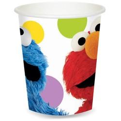 Elmo & Koekiemonster bekers