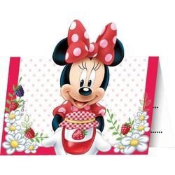 Minnie mouse versiering uitnodigingen