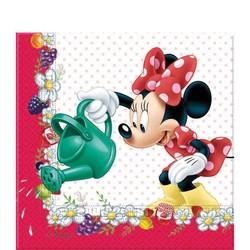 Minnie mouse feestartikelen servetten