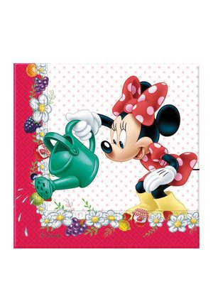 Minnie mouse feestartikelen servetten