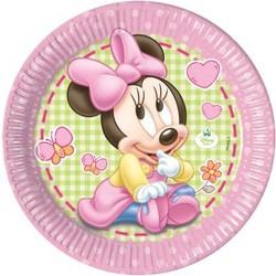 Minnie mouse 1e verjaardag borden