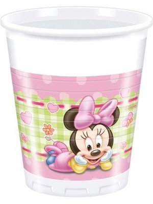 Minnie mouse 1e verjaardag bekers